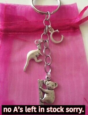Personalised Koala And Kangaroo Keyring • 4£