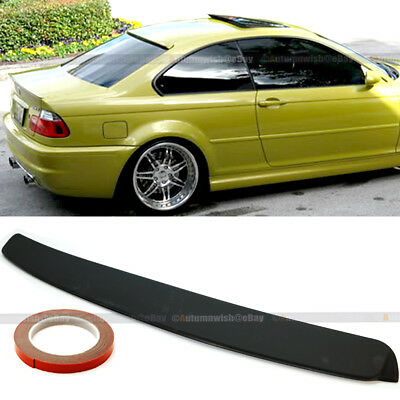 $29.99 • Buy For 99-05 BMW 3 Series E46 2DR Unpainted Rear Window Roof Wing Spoiler Visor