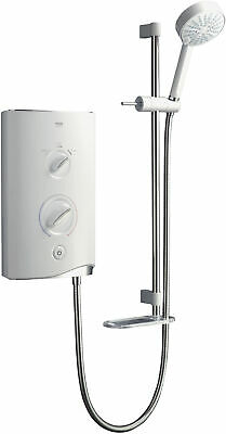 £264.99 • Buy Mira Sport Electric Shower Power 10.8kW Clearscale White & Chrome 1.1746.004