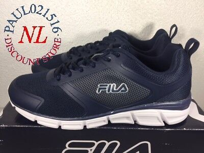 684d665455fe Fila Men s Memory Steelsprint Athletic Shoes ~ Navy ~ Various Sizes   Condition • 29.99