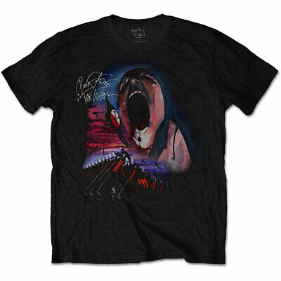 £13.99 • Buy Pink Floyd The Wall Dave Gilmour Roger Waters Official Tee T-Shirt Mens Unisex