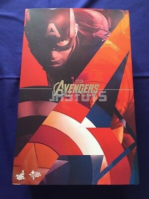 $ CDN836.46 • Buy Hot Toys 1/6 Avengers Age Of Ultron AoU Captain America MMS281