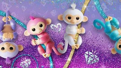 AU40 • Buy Wow Wee Fingerlings Baby Glitter Monkey Interactive Doll - Choose From 4
