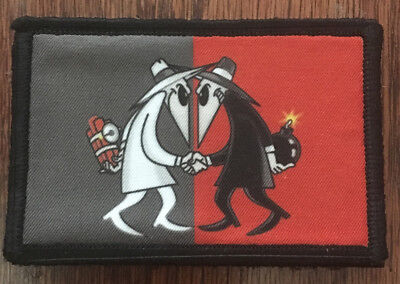 $7.99 • Buy Spy Vs Spy Morale Patch Tactical Military Army Flag Badge Hook USA