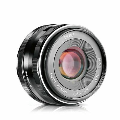 $ CDN96.45 • Buy Meike 35mm F1.7 Large Aperture Manual Focus Lens For Sony NEX A6000 A6300 A5000