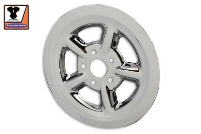 Rear Pulley Cover Sportster Hugger 883-1200cc XL 2004-UP 68 Tooth Chrome  • 34.95$