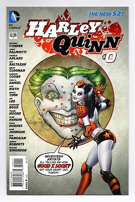 $ CDN9.66 • Buy Harley Quinn (2013) #0 Conner New 52 First Print Bagged Boarded Dc Comics Vf