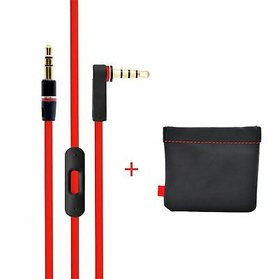 £8.78 • Buy Replacement Beats Audio Cable+Inline Remote,Beats RemoteTalk Cable For Solo & ..
