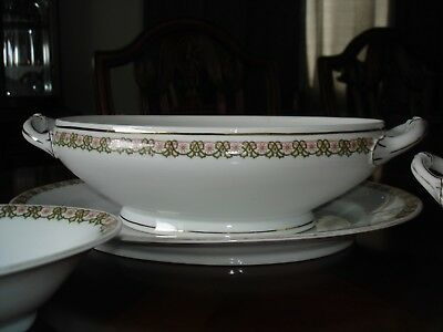 $65 • Buy Antique M&Z Austrian China, Set Of 4 Serving Dishes And Platter