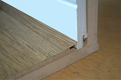 Small Sample Of Floor Edge Trim For Colour Matching Purposes • 0.99£