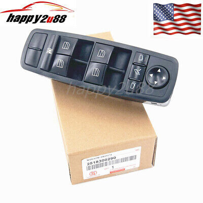 NEW Power Window Switch For Mercedes-Benz ML350 Master 2006-2011 A 2518300290 • 26.23$