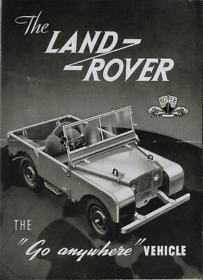 Land Rover Go Everywhere Retro Vintage Metal Sign • 5£