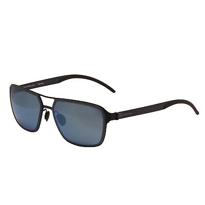 Mercedes Benz - Blue Rectangular Classic Sunglasses With Case • 70£