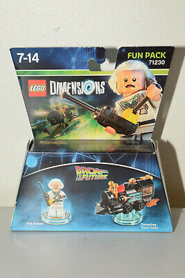 AU32 • Buy LEGO Dimensions 71230 Back To The Future Doc Brown Fun Pack (Free Shipping)