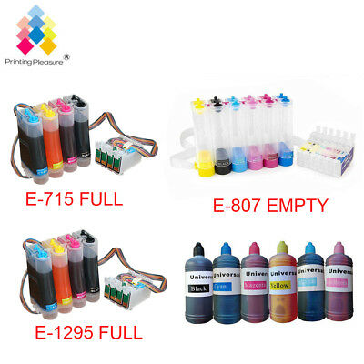 FULL CISS Continuous Ink System For Epson P50 SX215 Sx515w Sx425w LOT • 26.32£