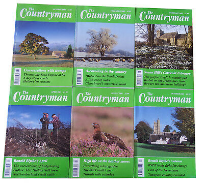 The Countryman Magazine 6 Issues Oct 2000 - Oct 2001 • 6.79£