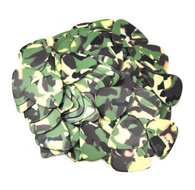 $ CDN8.07 • Buy 36pcs New Heavy 0.96mm Blank Guitar Picks Plectrums Celluloid Camouflage