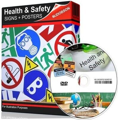 £4.95 • Buy Health And Safety Hazard & Warning Signs + Posters Dvd Item