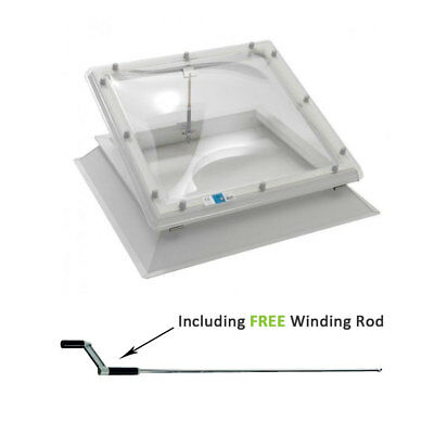£380 • Buy Coxdome Rooflight - Opening Ventilation Skylight Dome For Flat Roof + Kerb
