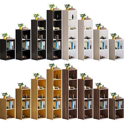 £28.95 • Buy Oxford 2 3 4 5 Tier Cube Bookcase Display Shelving Storage Unit Wood Furniture