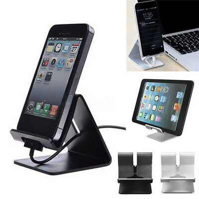 $7.39 • Buy Universal Aluminum Desktop Desk Stand Holder Mount For Cell Phone And Tablet Lot