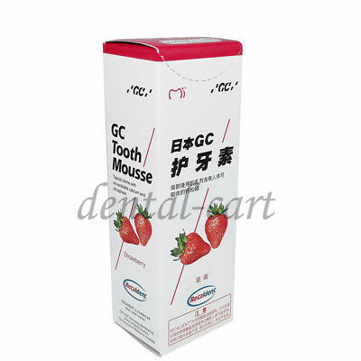 AU23.22 • Buy GC Tooth Mousse Strawberry Topical Tooth Cream With Recaldent 1 Tube Of 40 Gm 1X