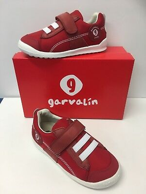 £19.90 • Buy Garvalin Boys Casual Shoe In Red  Ripstock With White (182453) Now £19.90