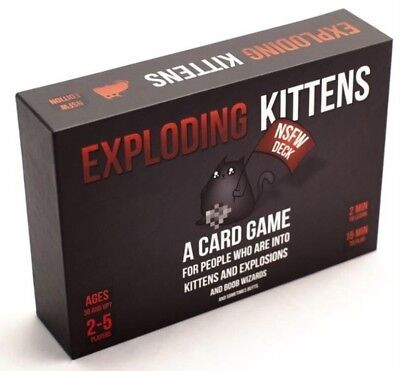 AU39.99 • Buy NEW Exploding Kittens Adult Game From Mr Toys