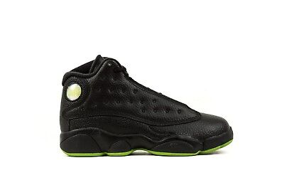 a1f4efa4c24db4 Preschool Nike Air Jordan 13 Altitude Green black 414575-042 Ps Size 11c-