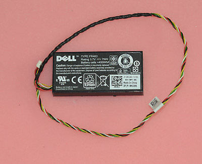 $ CDN18.70 • Buy NEW Genuine DELL FR463 Battery 0NU209 NU209 3.7V+Cable For H700