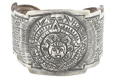 $285 • Buy Maciel Mexican Sterling Silver Hand-Hammered Cuff
