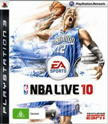 AU8.95 • Buy NBA Live 10 PS3 Game USED