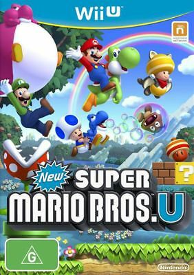 AU28.95 • Buy New Super Mario Bros. U Wii U WiiU Game USED