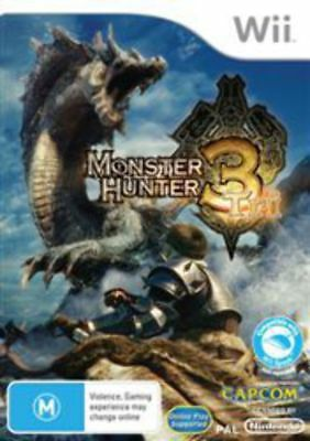 AU40.95 • Buy Monster Hunter Tri Wii Game USED