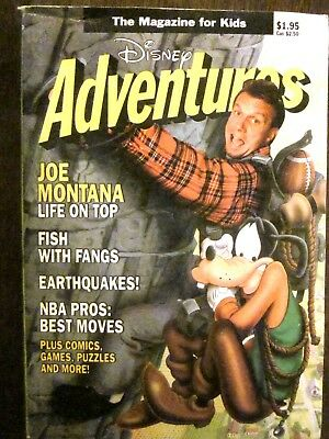 $10 • Buy Disney Adventures Magazine For Kids Vol. 1 #7 (May, 1991) Very Good To Fine