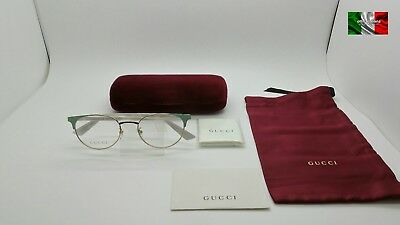 GUCCI GG0247O Color 003 Occhiale Da Vista Da Donna TOP ICON MAR18 • 146.93€ 55743b0ee65e