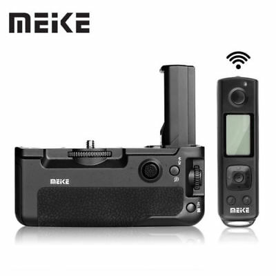 $ CDN182.79 • Buy Meike MK-A9 Pro Battery Grip Built-in 2.4GHz Remote Controller For Sony A9 A7R