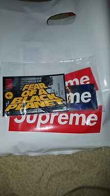$ CDN44.20 • Buy Supreme X Public Enemy X Undercover Sealed Sticker Pack *SUPREME BAG INCLUDED*