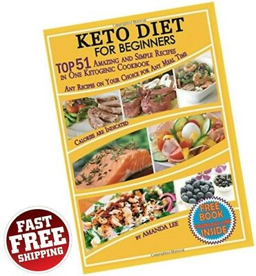 $8.95 • Buy Keto Diet Recipes Beginners Ketogenic Cookbook Weight Loss Low Carb Food Dieting