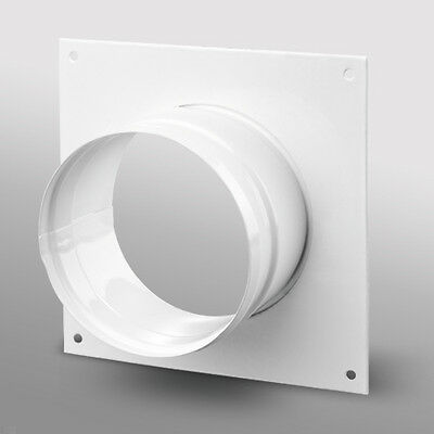Hydroponic Duct Wall Plate For Grow Room Ventilation Extract Fans 4 5 6 8 10 12  • 19.99£