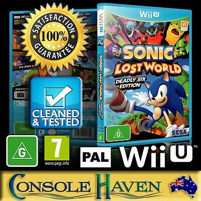 AU49.90 • Buy (Wii U Game) Sonic: Lost World (Deadly Six Edition / 6 (G) (Platformer) PAL