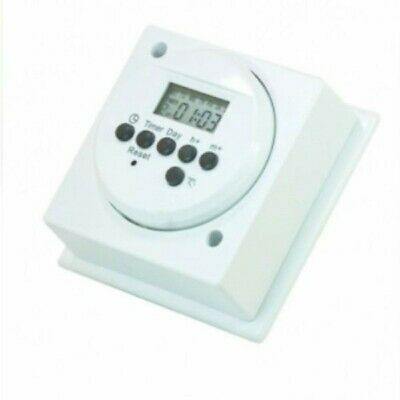 24 Hour Digital Immersion Heater Timer Switch LG-DIHT Socket Box Mounted • 18.59£