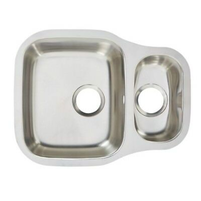 Cooke & Lewis Undermount Foucault 1.5 Bowl Polished Stainless Steel Sink • 129.99£