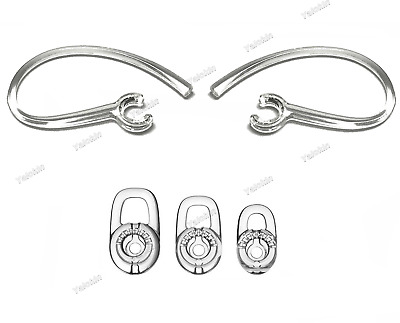 $ CDN21.69 • Buy 2 Earhooks And 3 S/M/L Eartips Set For Plantronics M25, M70, M90, M95, And M165