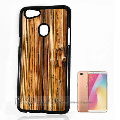 AU9.99 • Buy ( For Oppo A73 ) Back Case Cover P11206 Wood Pattern