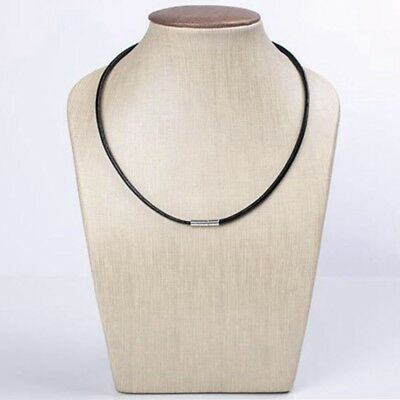 3mm Real Leather Choker Necklace Bracelet Cord With Bayonet Clasp • 1.49£