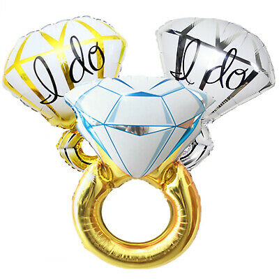 AU6.99 • Buy I Do & Diamond Ring Balloon Sets | Engagement Party | Wedding | Bridal Shower
