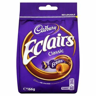 £25.49 • Buy Cadbury Eclairs Chocolate Bag 166g X 10