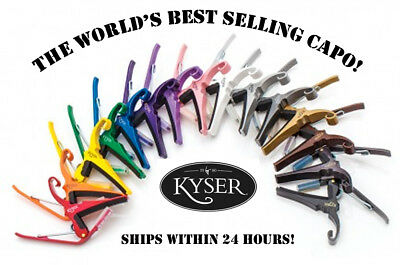 $ CDN26.60 • Buy **kyser Quick Change 6-string Acoustic Guitar Capo (kg6) - 19 Color Choices**