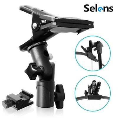 £9.35 • Buy Selens Metal Photo Studio Clamp Clip Holder For Reflector Background Light Stand